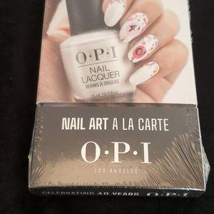OPI nail art a la carte celebrating 40 years NIB